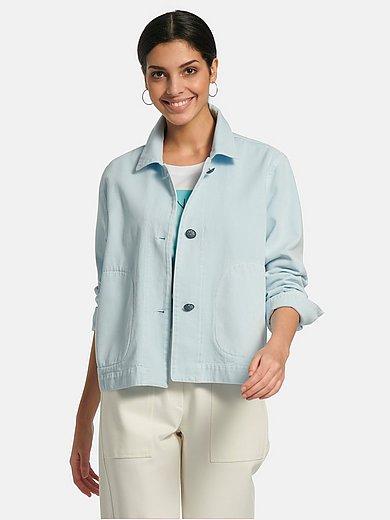 Margittes - Jas van 100% katoen met overhemdkraag