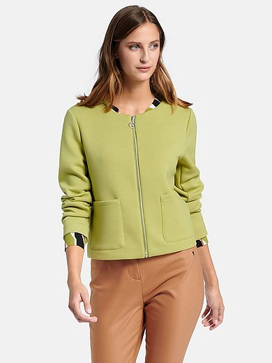 comma, - Short jacket with long sleeves