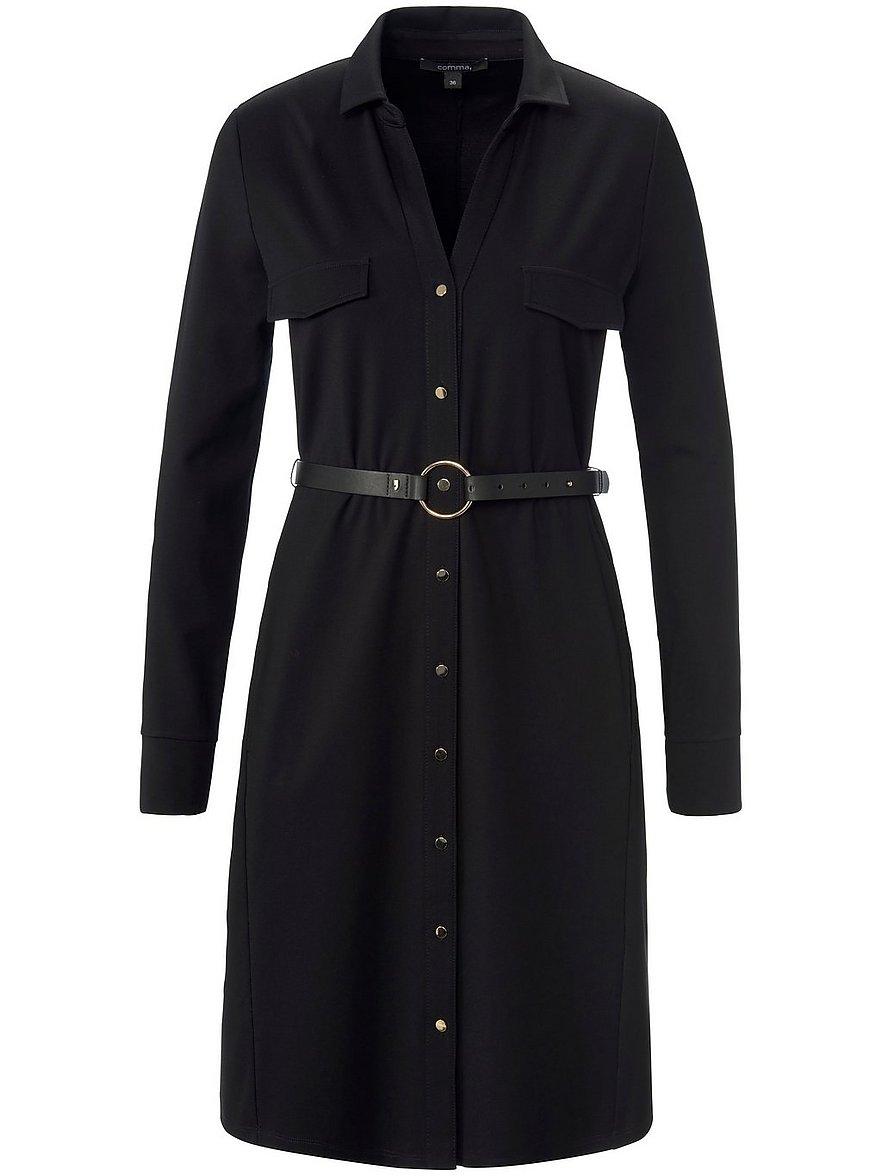 comma, - Jersey-Kleid  schwarz Größe: 46