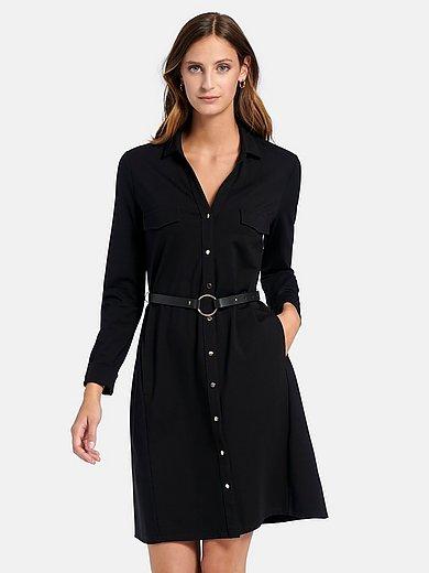 comma, - La robe en jersey avec manches longues