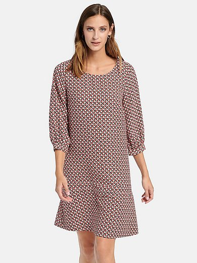 comma, - Dress with 3/4 length sleeves