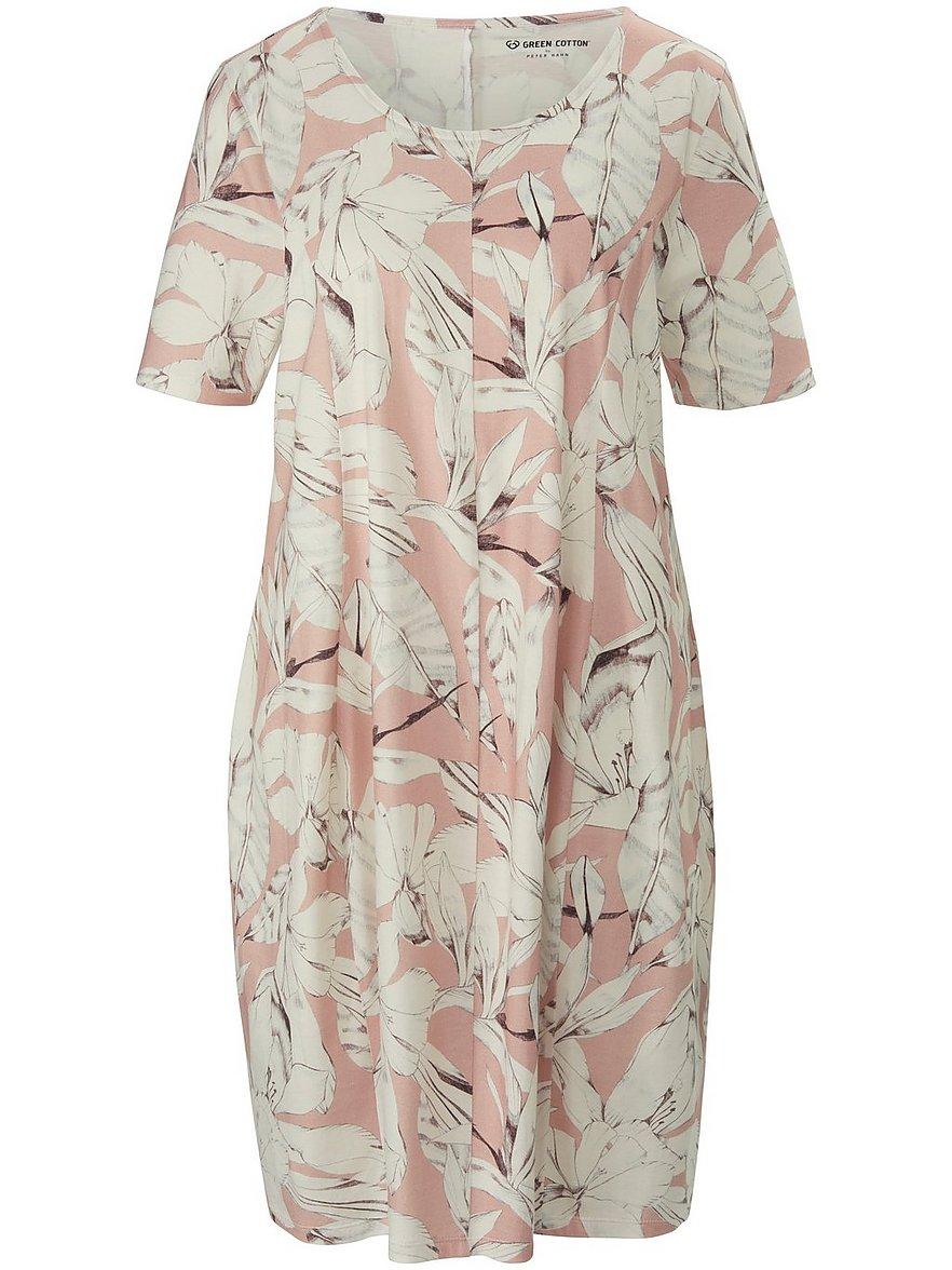 green cotton - Jersey-Kleid  rosé Größe: 36