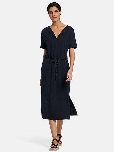 Lanius - La robe en jersey avec manches courtes