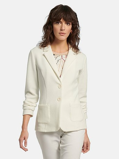 Betty Barclay - Jersey blazer with revere collar