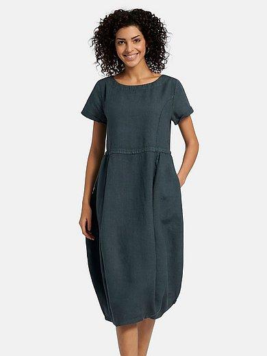 elemente clemente - Kleid aus 100% Leinen