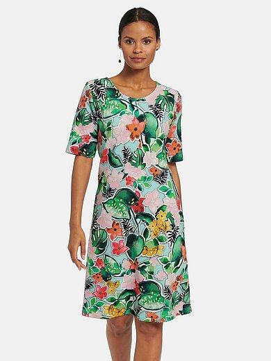 Efixelle - La robe en jersey avec manches courtes