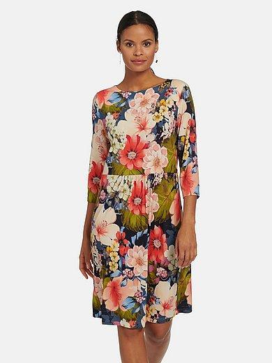 Efixelle - La robe en jersey avec manches 3/4