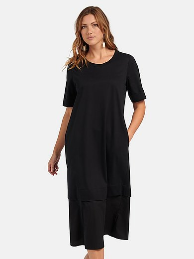Persona by Marina Rinaldi - Jersey dress with short sleeves
