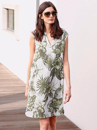 Betty Barclay - Mouwloze jurk van 100% linnen