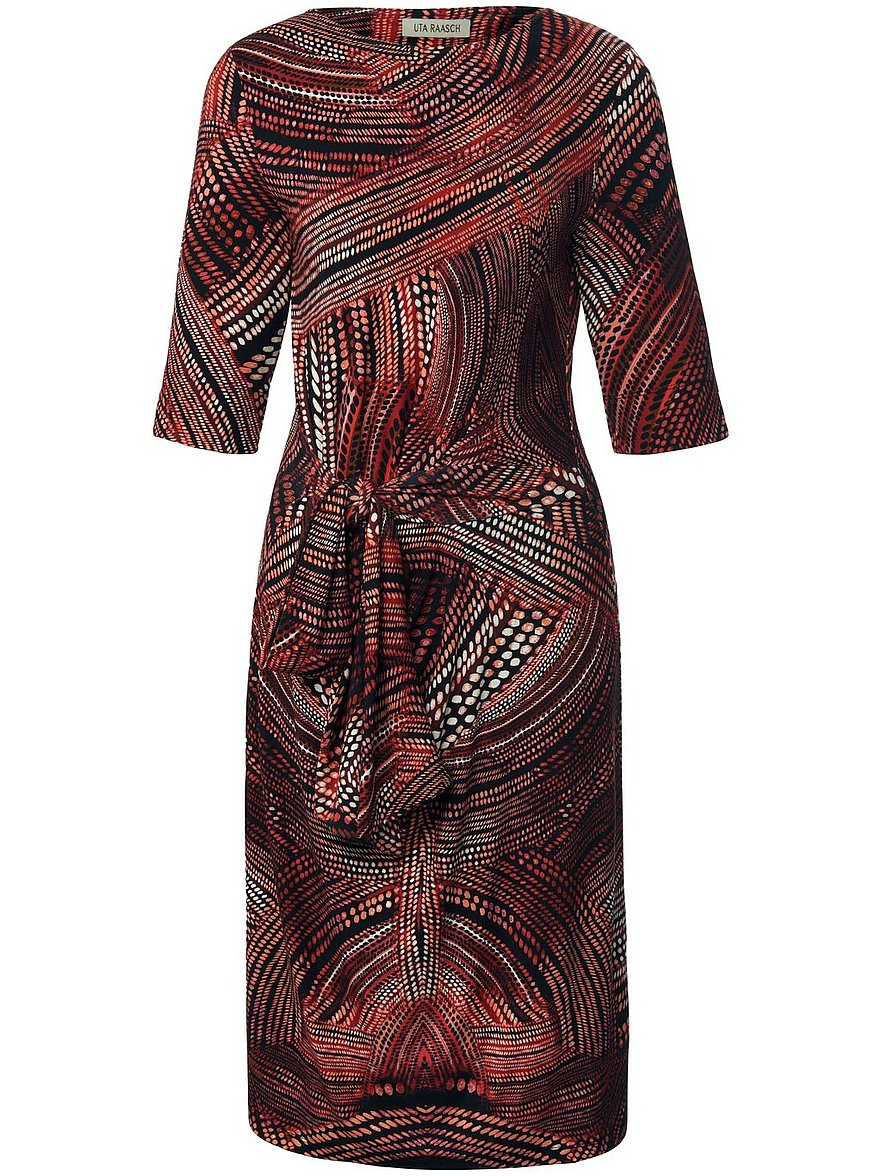 uta raasch - Jersey-Kleid 3/4-Arm  mehrfarbig Größe: 36