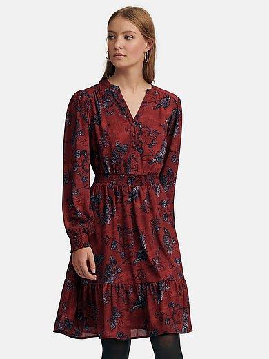 MYBC - Kleid mit Smok-Bündchen