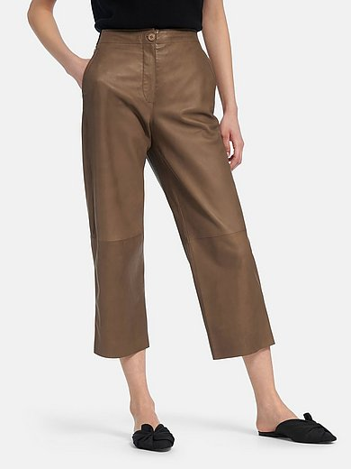 Riani - La jupe-culotte en cuir