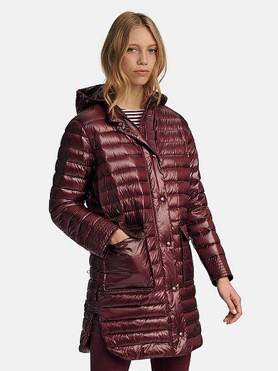 Bogner - La veste doudoune longue à la capuche