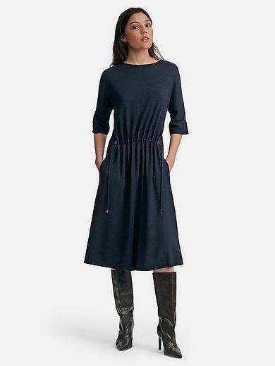 Fadenmeister Berlin - Jersey dress in 100% new milled wool