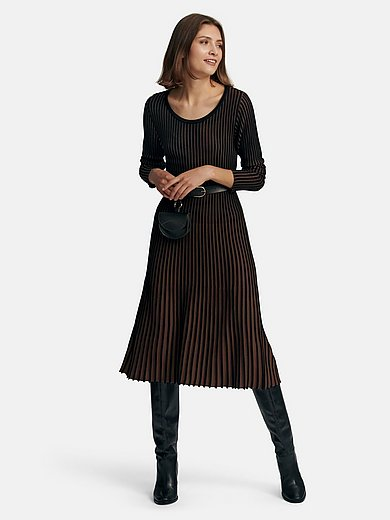 Betty Barclay - Knitted dress with long sleeves