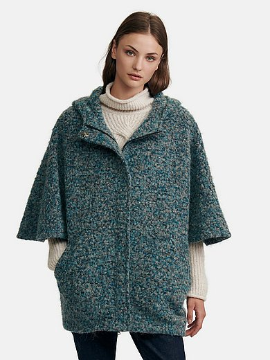 Peter Hahn - Cape in oversized style with shorter sleeves