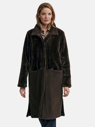 Emilia Lay - Mantel mit Stehkragen