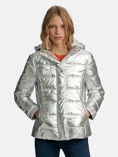 Looxent - Quilted jacket with removable hood