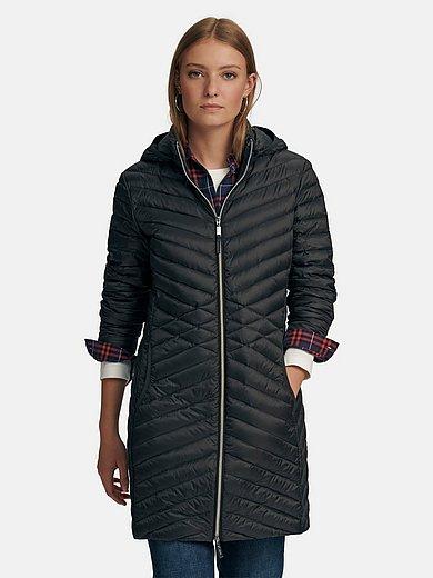 MYBC - La veste doudoune longue à capuche amovible