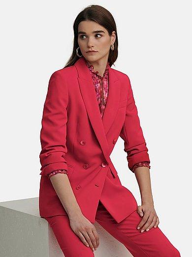 Laura Biagiotti ROMA - Le blazer long avec poches passepoilées à rabat