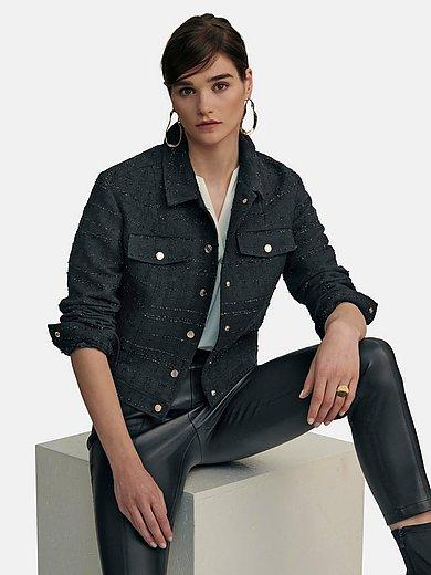 Laura Biagiotti ROMA - Jacket in classy bouclé with flap pockets