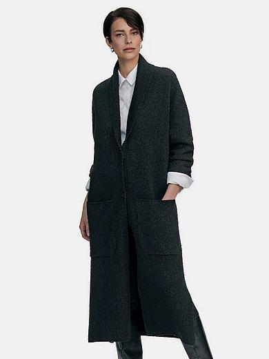 tRUE STANDARD - Le manteau en maille manches longues