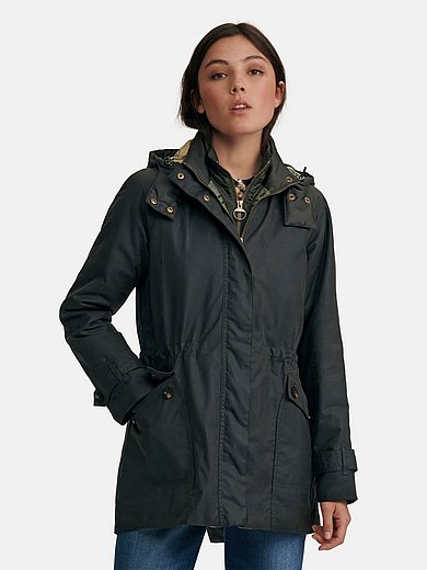 Barbour - La veste cirée classique avec empiècement gilet