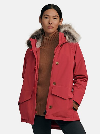 Barbour - Long jacket made of waterproof micro cotton