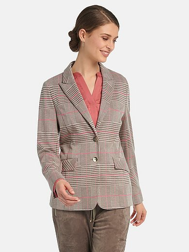 Basler - Blazer with long sleeves with slit