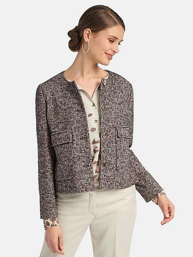 Basler - Round neck jacket in shorter length