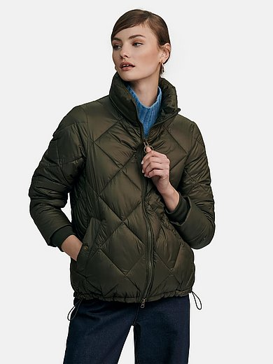 Barbour - Quilted jacket with padded stand-up collar