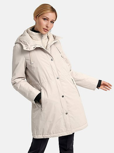 Basler - Coat with removable quilted waistcoat