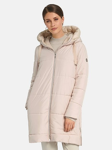 Basler - Quilted coat with hood