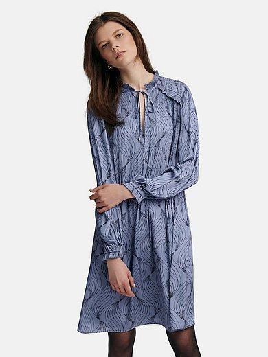TALBOT RUNHOF X PETER HAHN - Kleid mit V-Ausschnitt