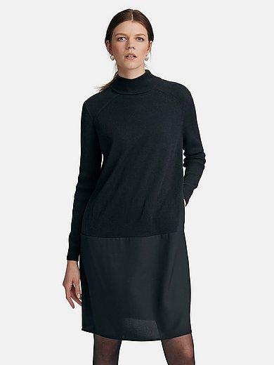 TALBOT RUNHOF X PETER HAHN - Kleid mit Stehkragen