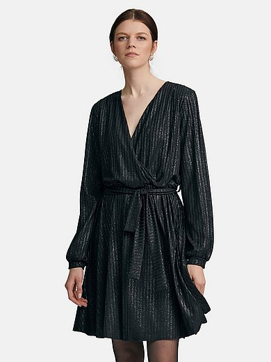 TALBOT RUNHOF X PETER HAHN - Jersey-Kleid in Wickel-Optik