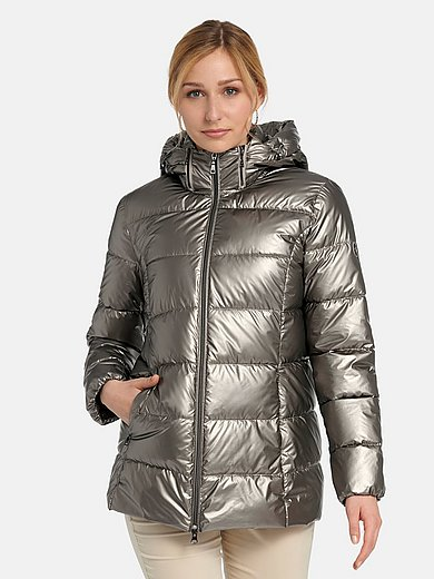 Basler - Quilted jacket with zip-off hood