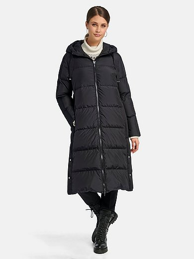 Basler - Quilted down coat with hood