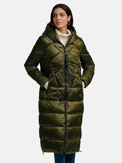 Green Goose - Quiltet frakke med påsyet vatteret hætte