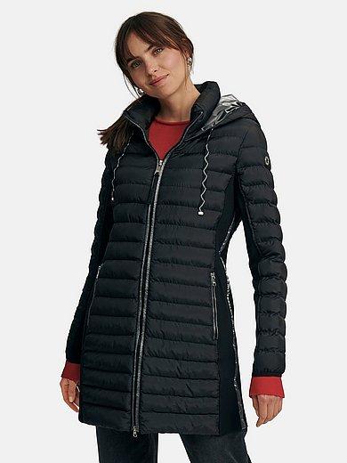 Fuchs & Schmitt - Long quilted jacket with hood