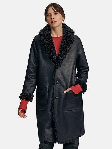 Milestone - Reversible jacket in leather look