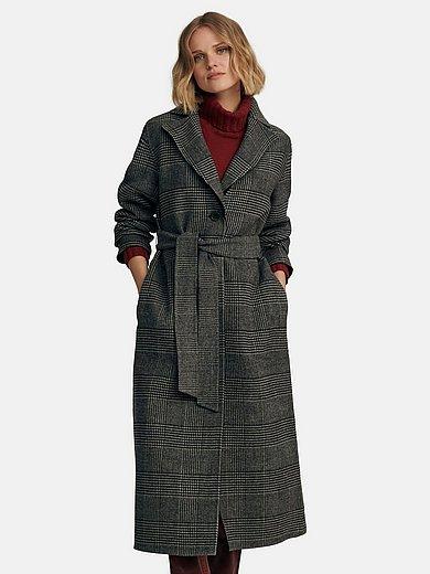 Peter Hahn - Le manteau réversible à large col tailleur