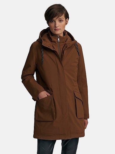 Fuchs & Schmitt - Long jacket with high-closing stand-up collar