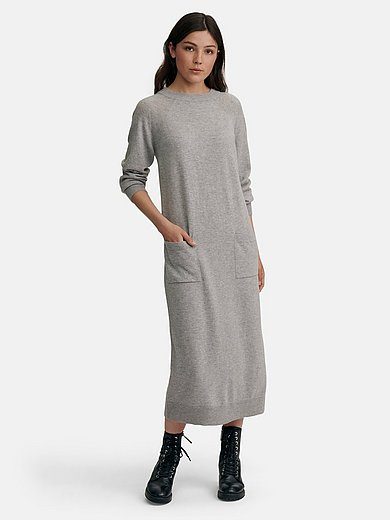 MAERZ Muenchen - Knitted dress in 100% new milled wool