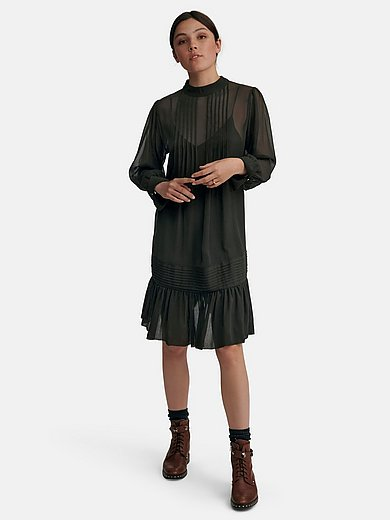 Joop! - Dress with long sleeves and a sewn-on ruffle