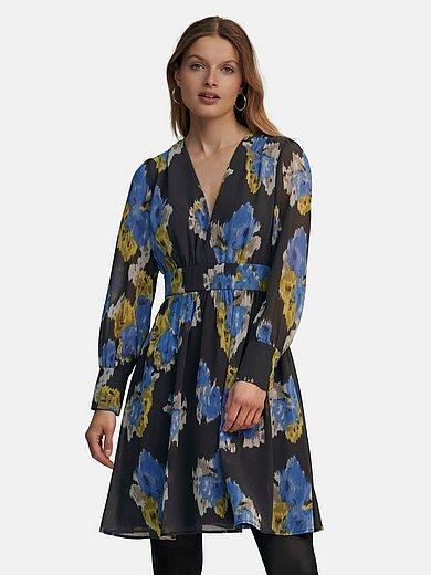 Marc Aurel - Kleid mit tiefem V-Ausschnitt
