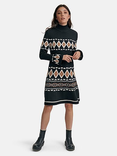 Bogner - Knitted dress in 100% new milled wool