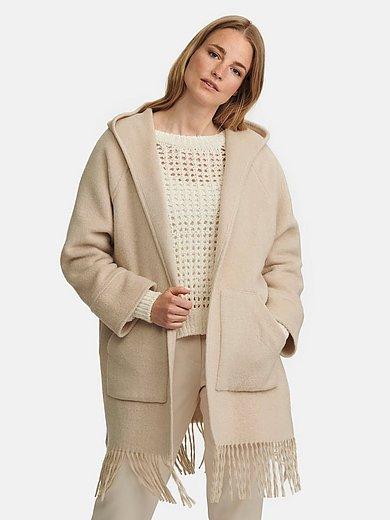 Riani - Le manteau avec longues franges à la base