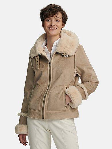 Milestone - Jacket in beautiful warm lambskin look