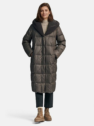 Rofa - Quilted down coat with hood